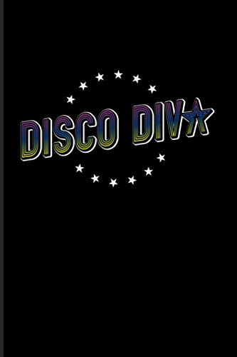 Disco Diva: 2021 Planner | Weekly & Monthly Pocket Calendar | 6x9 Softcover Organizer | Hipster Retro Vintage & Disco Outfit Gift