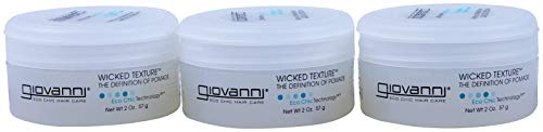 GIOVANNI- Eco Chic Wicked Texture- The Definition Of Pomade- Hair Texturizer 3 PACK (2 Ounce)