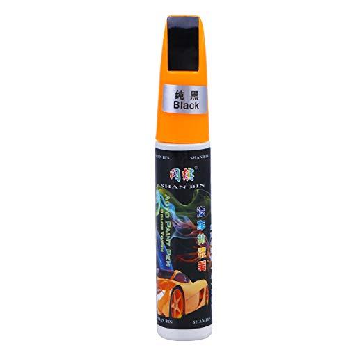 OUNONA Pennello per Auto Riparazione Graffi per ritocchi Penna Pennelli per verniciatura (Nero)
