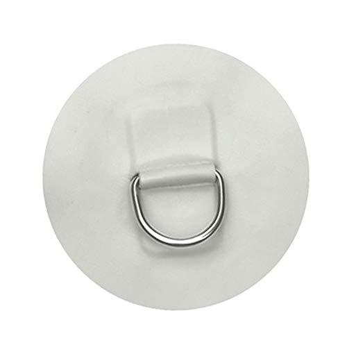 Gazechimp Anello in Acciaio Inossidabile con Gancio A Molla in Acciaio Inossidabile A Forma di D per Gommone in PVC