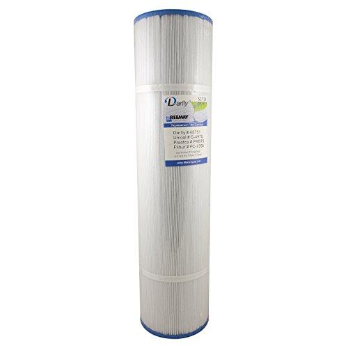 Darlly® Filter Ersatzfilter SC733 Lamellenfilter Hydropool Spas