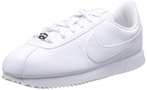 Nike Jungen Cortez Basic Sl (gs) Laufschuhe, Weiß (White/White/White 100), 38 EU