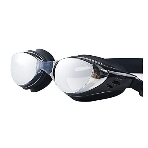 XUEXIU Gafas Impermeables Ajustables Protección contra Niebla Adultos Lentes De Colores Buceos Gafas De Natación Gafas De Natación (Color : B)