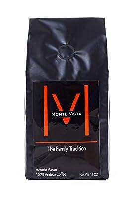 MONTE VISTA CRAFT COFFEE, ORGANIC Honduran Specialty Coffee-MICRO-BATCH ROAST-Medium, STRICTLY HIGH GROWN
