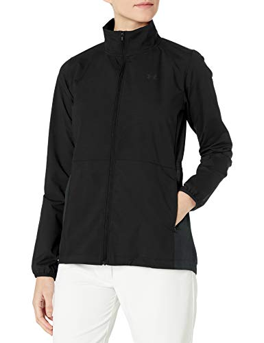 Under Armour Women's Windstrike Full Zip Jacket, Black (001)/Black, X-Small