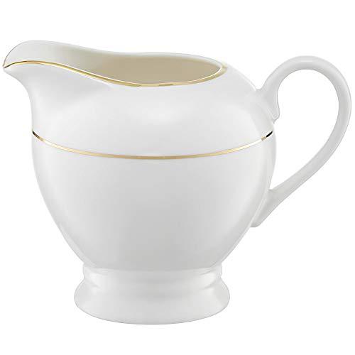Ambition 23063 Aura Gold - Jarra de leche (300 ml, porcelana), diseño elegante y moderno