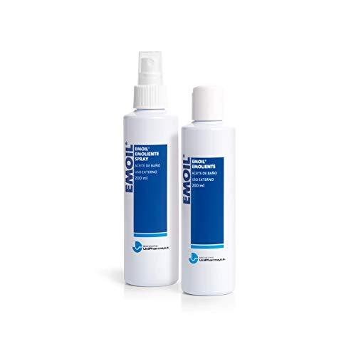 Unipharma Emoil Emoliente Spray - Aerosol de aceite de baño, 200 ml