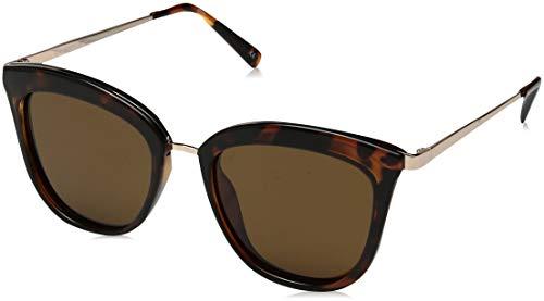 Le Specs Caliente Tortoise Cat Eye Sunglasses Talla Unica Tortoise