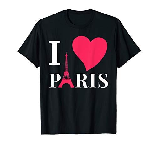I love Paris, Frankreich, Eiffelturm, Liebe, Romantik T-Shirt