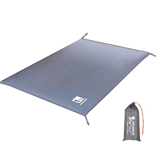 Alfombra de camping anti UV, toldo resistente al agua, multiusos impermeable al aire libre, equipo de camping a prueba de arena, manta de playa para camping, senderismo, picnic