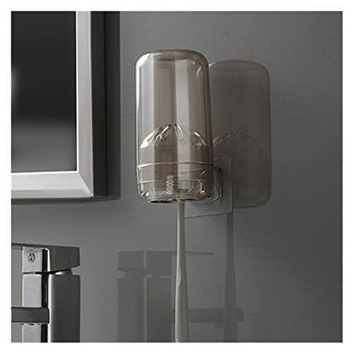 Montado en la pared Accesorios de baño Conjunto Conjunto Soporte de cepillo de dientes Automático Copa de cepillo Cepillo de dientes Copa de dientes Conjunto de succión Muro de dientes Pozo de cepillo