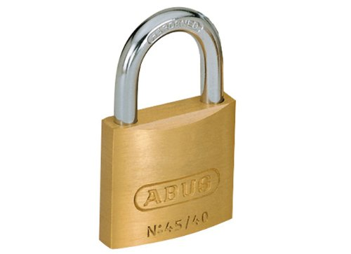 ABUS 45/40 Messing-Hangschloss, 40 mm