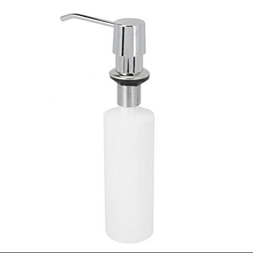 DJYTHLT Dispensador de jabón para Fregadero Bomba de loción plástica incorporada Botella de plástico para baño y Cocina Jabón líquido Organizar 300 ml