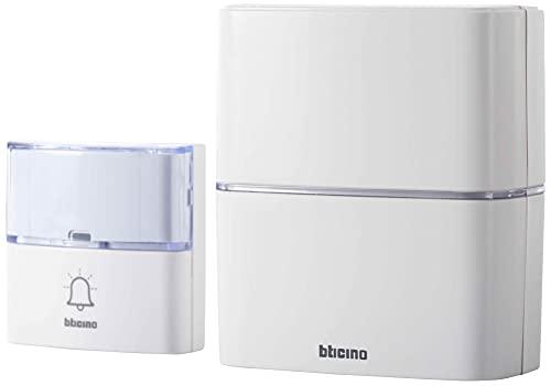 Bticino 393015D Kit Campanello Senza Fili Advanced, Bianco