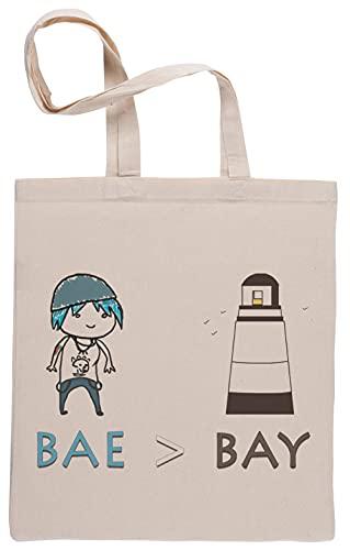 Bae Aver Bay Life Is Strange Bolsa De Compras Shopping Bag Beige