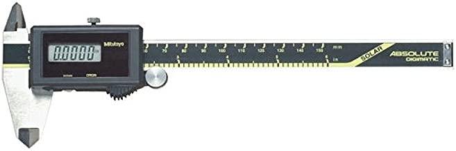 Mitutoyo 500-464 Digital Calipers, Solar Powered, Inch/Metric, Stainless Steel, 0