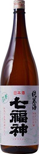 岩手のお酒、七福神 純米 (1.8L (一升)瓶)