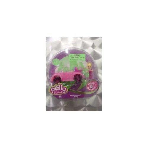 Mattel - Mattel - L4382 - Véhicule Miniature - Polly Pocket - Micro Voiture - Pretty In Pink