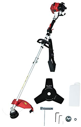PowerSmart PS4532 25.4 cc 2 Stroke Gas String Strimmer and Brush Cutter