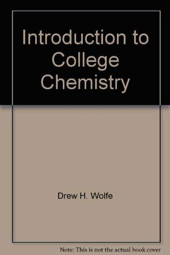 Download Introduction to College Chemistry 0618243003