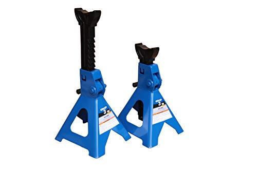K Tool International 3 Ton Jack Stands Pair (XD); Height Ranges 11 2/5