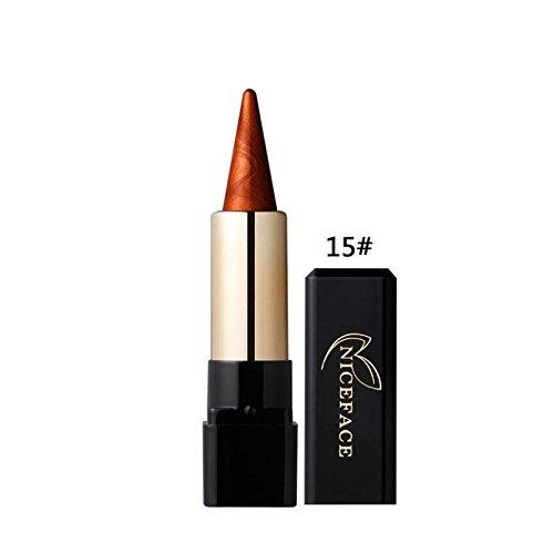 Fards à paupières,OVERMAL Eyeshadow Ombre à PaupièRes L'Oeil De L'Eye - Liner CrèMe Beauté Waterproof Crayon Crayon De Maquillage Gel Ligne De Maquillage (O)