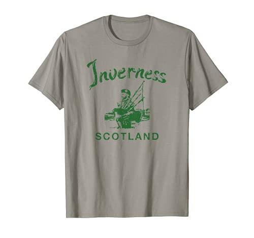 Inverness Escocia Galico Escocs Vintage Galico Camiseta