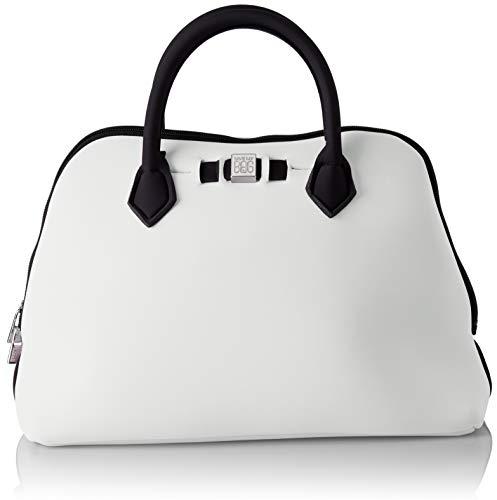 save my bag Princess Midi, Borsa a Mano Donna, Avorio (Avorio), 36x26x16 cm (W x H x L)