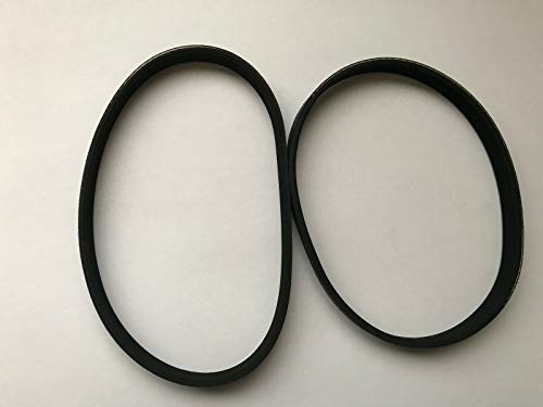 Replacement Parts 2 New Belts for Hoover Nanolite Nano Lite Vacuum Series ZH12.0 U2440-900W 04080002