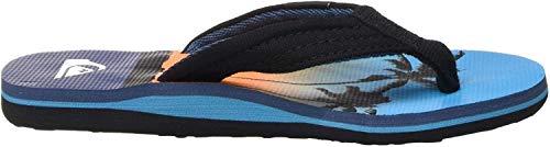Quiksilver Herren Molokai Layback Youth Badeschuhe, Mehrfarbig (Black/Blue/Blue Xkbb), 36 EU