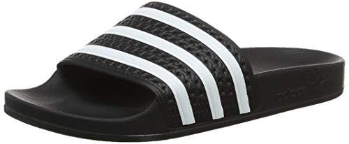 Adidas Originals Adilette Tongs pour homme - - Noir, blanc, noir., 38 EU