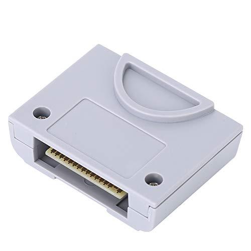 ASHATA Speicherkarte für N64, 256 KB Ersatzspeicherkarte für N64-Game-Console-Controller, Plug & Play, wasserdicht und Antifouling