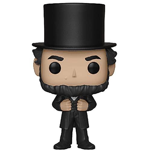 Versión POP Q del tío Sam, decoración de juguetes de estatua de modelo de personaje de Lincoln