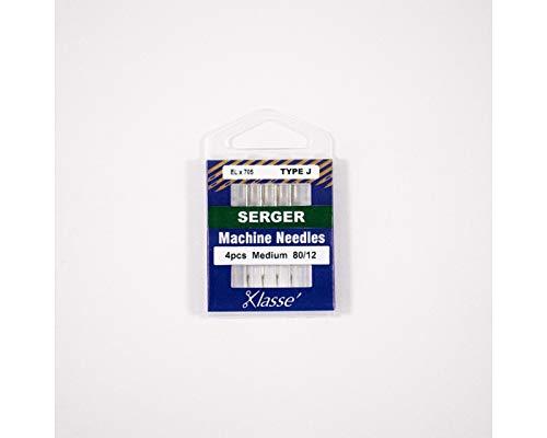Klasse' Serger Needles Type J (ELx705) Size 80/12
