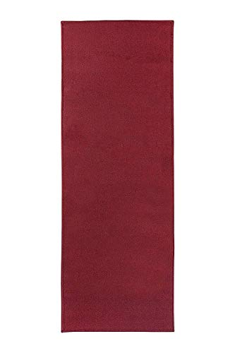 Ritz Accent Rug, 20-Inch by 60-Inch Runner, Red