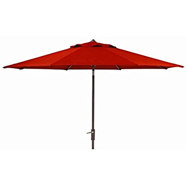 Members Mark Sunbrella 10 Ft. Patio Market Umbrella With Auto Tilt (Red)