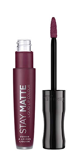 Rimmel London Stay Matte, Pintalabios Tono 800 Midnight, 5.5 ml