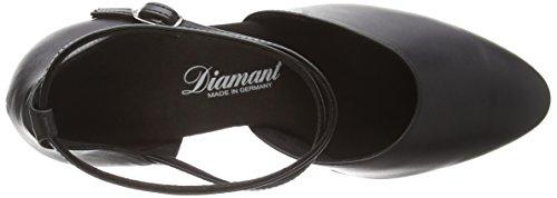 Diamant Standard Damen Tanzschuhe – Standard & Latein,E, 6,5 Latino Absatz, Schwarz 058-080-034 - 5