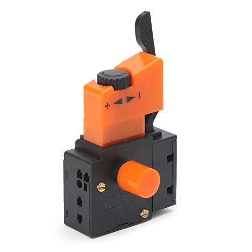 YoungerY Interruptor de Velocidad Ajustable de 250V / 4A FA2-4 / 1BEK para Taladro eléctrico