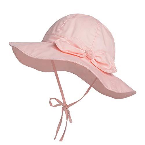 Happy Cherry - Bébé Chapeau d'été Bob Anti-UV Fille Enfant Garçons Bonnet Protection Soleil...