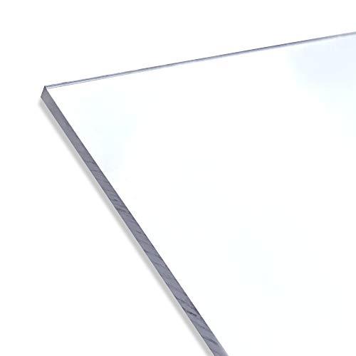 PET Kunststoffplatte ähnlich Plexiglas - 2000x1000x2mm - verschiedene Größen/beidseitige Schutzfolie - Scheibe/Platte