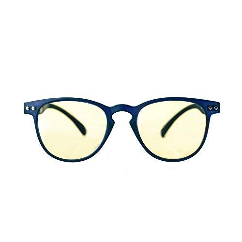 KURA Lens Occhiali PC, TV, Gaming, Comfort visivo, Contro stanchezza Occhi, Montatura Leggera, RIDUZIONE Luce Blu 49% e UV 100%