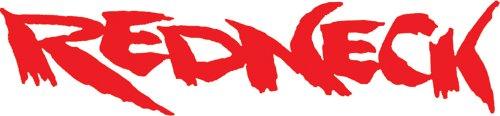 "Chroma 8050 Redneck (Red) 6""x20"" Vinyl Decal"