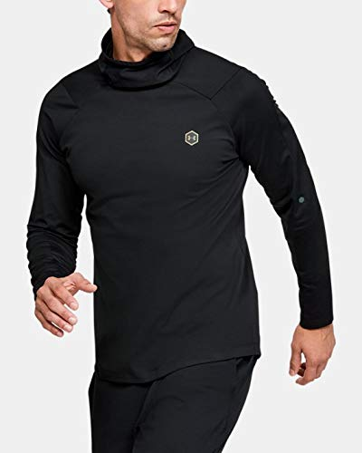 Under Armour Coldgear Rush T-Shirt Manches Longues Homme Noir FR : L (Taille Fabricant : LG)