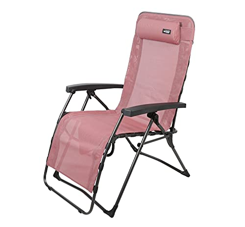 WESTFIELD® Relaxliege XL rot Textil belastbar bis 140kg