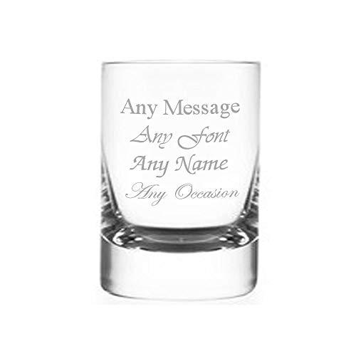 Vaso de chupito redondo personalizable para boda, cumpleaños, Navidad, 50 ml