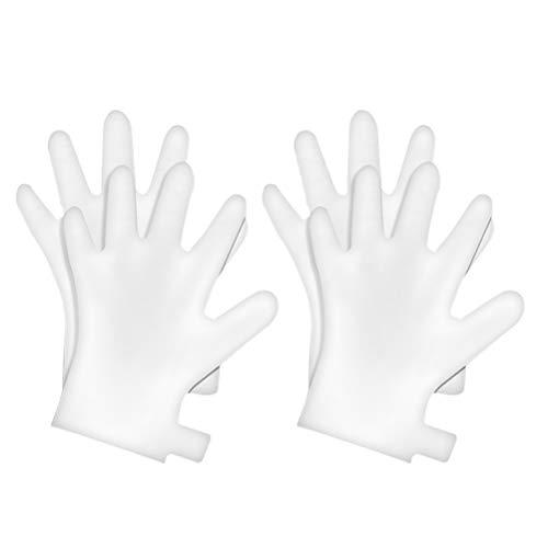 Lurrose 5 paires exfoliantes peeling blanchissant nourrir les mains des gants pour hydrater la peau sèche des mains sensibles Spa