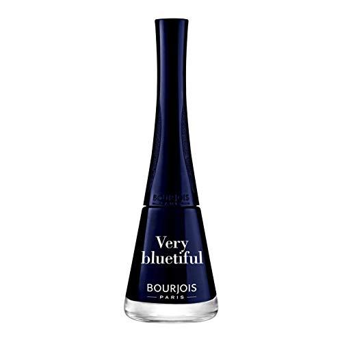 Bourjois, Nagellack (Farbton 2 Very Bluetiful) - 3 x 9 ml (insgesamt 27 ml)