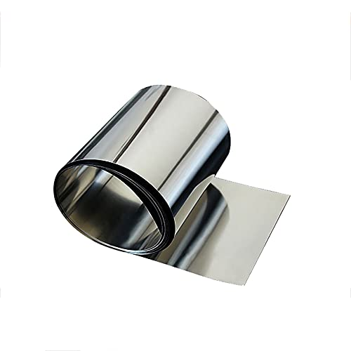 ZHY-ZNB 304 Hoja de Placa Fina de Acero Inoxidable, Espesor 0.15-0.4mm, Longitud 1000mm, Ancho 100mm,0.2mm