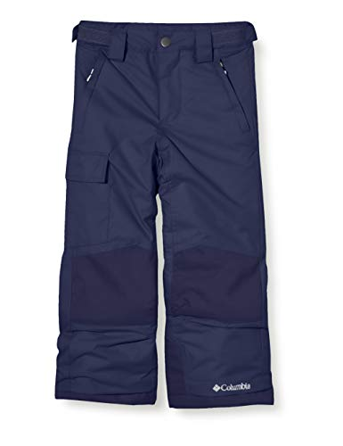Columbia Pantalón de esquí Bugaboo II, para Niños, Azul (Nocturnal), XL